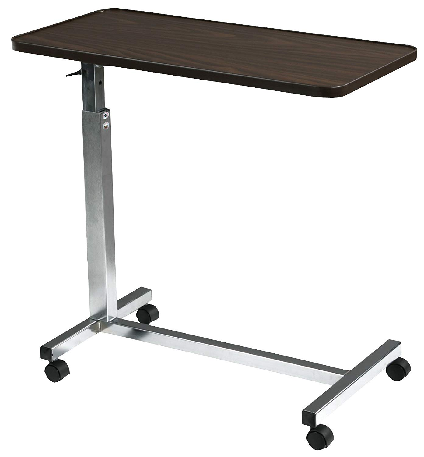 Table Adjustable Rolling Portable Mobile Table Carts Tray Stand - 副本