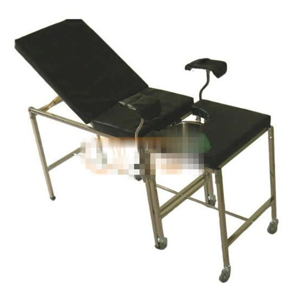 PVC Black Pad Durable and Good insulation performance Gynecological examination couch  - 副本
