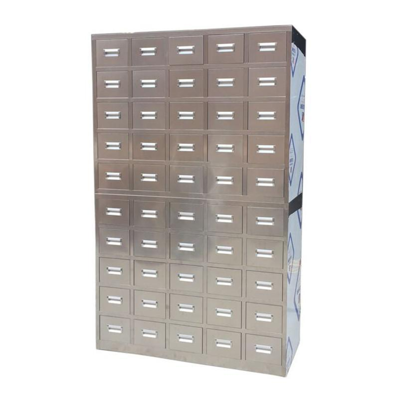 Stainless Steel Pharmacy Drawer Storage